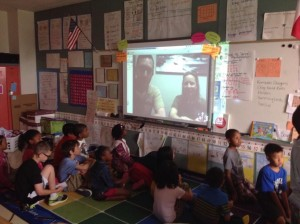 Check out the Dallas Zoo as they Skype with Polser Elementary.