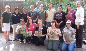 Dallas Zoo and Momentous Institute NatureStart workshop participants.