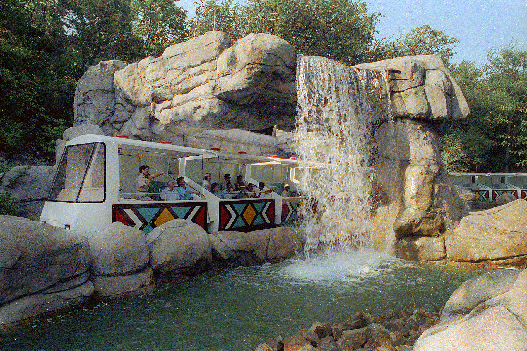 Monorail Safari Dallas Zoohoo