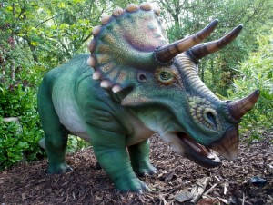 Massive Triceratop will joing the dinosaur lineup./Billings Productions Inc.