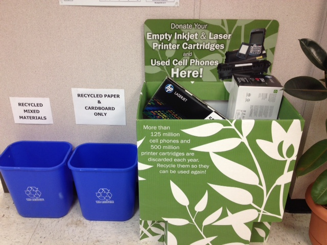 Ink Cartridge and Other Recycling at ESC